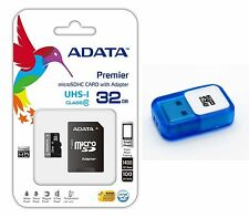 Adata 32GB MICRO SD HC SDHC MEMORY CARD CLASS 10 FOR GOPRO HD HERO 3 CAMCORDER