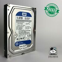 "1TB Western Digital Blue WD10EZEX-08M2NA0 3.5"" SATA Internal Hard Drive HDD"