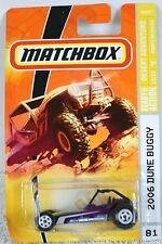 MATCHBOX 2006 DUNE BUGGY READY FOR ACTION DESERT ADVENTURE13/17 DIE CAST DETAIL