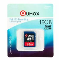 16GB QUMOX 80MB/s SD HC 16 GB Class 10 UHS-I Secure Digital Memory Card R