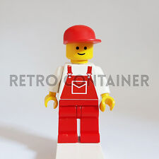LEGO Minifigures - 1x ovr008 - Construction Worker - Omino Minifig Set 6381 7722