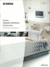 Yamaha Katalog Prospekt 2005 / YSP-1 MCX-1000 DSP-Z9 RX-V2500 MX-D1 AX-596