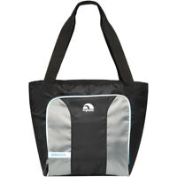 IGLOO MaxCold Insulated Cooler Tote - Black/Silver/Blue