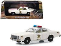 1971 Plymouth Fury Die-cast Car 1:43 Greenlight 5 inch Hazzard County Sheriff