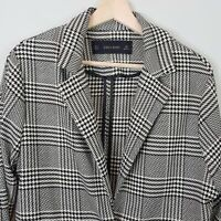 [ ZARA ] Womens Houndstooth Blazer / Jacket  | Size S / AU 10 or US 6