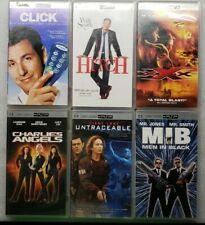 UMD Movie Sony PSP Lot XXX Charlie's Angels Men In Black Untraceable Hitch Click