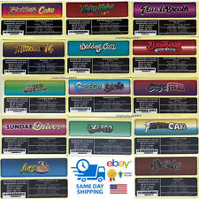 25X Pack Jungle Boys Ingredient Stickers for Mylar Bags *Free Quick Shipping*