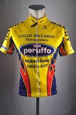 Giordana Team Peruffo Rad Trikot Gr. L 51cm Bike cycling jersey Shirt DA1