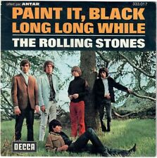 THE ROLLING STONES Paint it black 1966 French SP decca Repress 1972 Antar