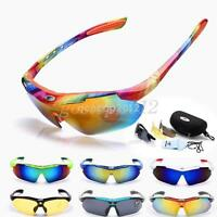 Outdoor UV400 Polarized 3 Lens Glasses Cycling Interchangeable Tinted Sunglasses