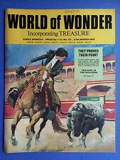 World of Wonder - N°53 - 27 mars 1971 - The Girl In The Bullring - MAGAZINE