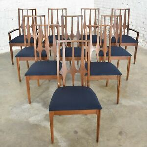 Broyhill Brasilia Dining Chairs Original Set of 10 Mid Century Modern 1962-1970