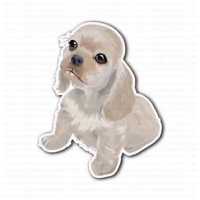 American Cocker Spaniel Puppy Dog Sticker