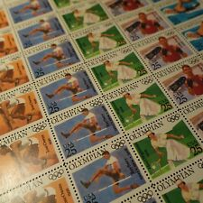 FEUILLE SHEET STATES UNIS N°1904/1908 x35 JEUX OLYMPIQUES 1990 NEUF LUXE MNH