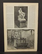 Harper's Weekly Remains of the Late Governor Stephens Lying State 1883 A8#70