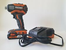 Ridgid R86035 Gen5X 18V Cordless Impact Driver w/ 2Ah Battery And Charger
