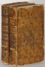 Recreations Mathematiques Physiques Jacques Ozanam 1750-54 2 vol. illustrated
