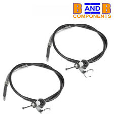 BMW MINI R50 R52 R53 ONE COOPER S HAND BRAKE CABLES PAIR A1269