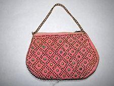 Vintage Retro 1970's Purse - Pink - Original Ex-Shop Stock