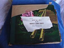 Budapest String Quartet/Brahms Sextet No. 2/4 78s/Victor DM-371/SEALED NOS*