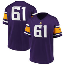 NFL Vikings Du Minnesota 61 Maillot Shirt Polymesh Franchise Supporters Iconic