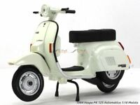 VESPA SCOOTER PK 125 1984 1:18 Moto Models Miniature Die Cast Toy Motorbike
