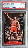 1998 Upper Deck Michael Jordan 230V PSA 8 NM-Mint (Total Pop 6)!!Nice Card!