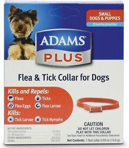 Adams Plus Flea & Tick Collar for Small Dogs     Free Shipping