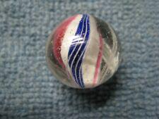 "Antique Ribbon Core Swirl Marble - 3/4"""