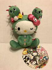 NEW NWT Tokidoki🔥 Sanrio Characters Hello Kitty Sandy Plush Doll Sticker 6 Inch