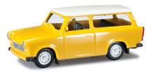 HO 1:87 Herpa Trabant 601 S Universal Station Wagon - Yellow/White