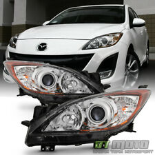2010 2011 2012 2013 Mazda 3 Mazda3 Halogen Headlights Headlamps 10-13 Left+Right (Fits: Mazda)