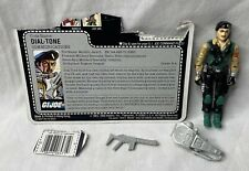 New listing Vintage 1986 G.I. Joe Dial-Tone Figure Complete w/ Weapon & File Card
