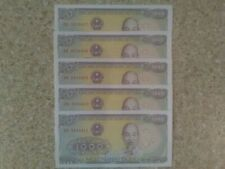5 X VIETNAM - 1988 1000 Dong UNC Banknote CONSECUTIVE NO'S MINT  CONDITION