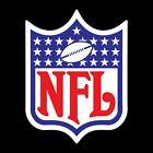 Внешний вид - NFL Logo 2 PACK Vinyl Decal / Sticker - You Choose Size - FREE SHIPPING