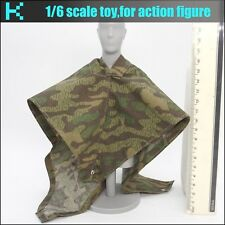 L29-27 1/6 scale action figure WWII germans Camouflage raincoat