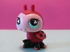 petshop grosse coccinelle rose noir / pink black ladybug N° 629
