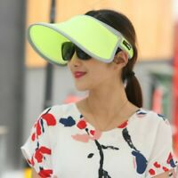 Women Golf Tennis Outdoor Sport Summer Beach Cap Wide Brim Anti-UV Sun Visor Hat