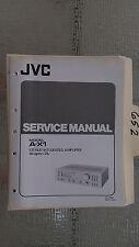 JVC a-x1 service manual original repair book stereo amp amplifier integrated