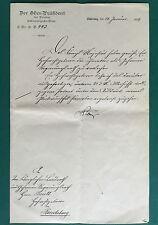 Bestallungsurkunde DEUTSCHER KAISER WILHELM II., 21.01.1899, Claus Henning Brütt