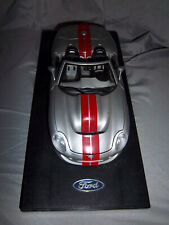 """Enor Ford Shelby Nevada the Silver State Diecast Car 9.5"""" 13.5"""" Base"""