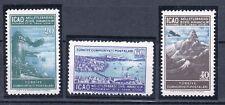 TURCHIA-TURKEY 1950 congresso ICAO A19-21 MNH