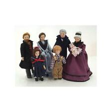 12th Scale Porcelain Victorian Family