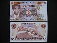 UGANDA  50 Shillings 1985  (P20)  UNC