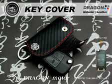 Leather Keyfob Holder Case Chain Cover FIT For OPEL CORSA C ASTRA Steinmetz 253B