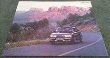 1984 SAAB 900 inc TURBO - USA 28 PAGE BROCHURE