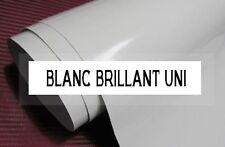 FILM ADHESIF VINYLE BLANC UNI BRILLANT 150 x 30 cm Covering