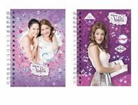 VIOLETTA DISNEY CHANNEL MARTINA STOESSEL 15X11 CM NOTEBOOK A6 QUADERNO DIARIO