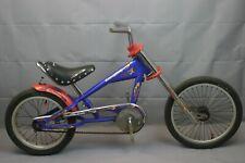 """Schwinn Stingray 16"""" Kids Bike 90's SS Single Motorcycle Design Steel US Charity"""