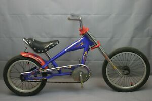 "Schwinn Stingray 16"" Kids Bike 90's SS Single Motorcycle Design Steel US Charity"
